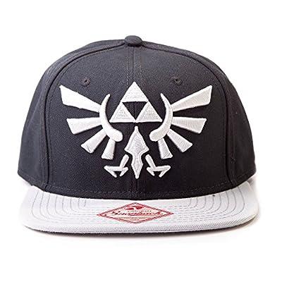 Bioworld Nintendo Zelda Black/Grey Men's Snapback Hat from Bioworld