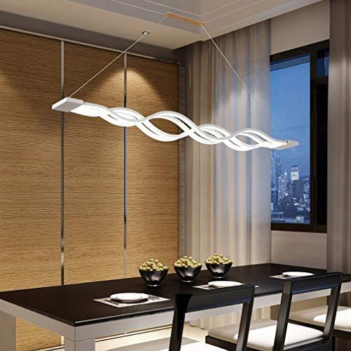 ▷ 80W Moderno LED Regulable Luz colgante Lámpara de mesa de ...
