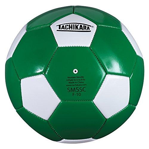 Ball Soccer Camp (Tachikara SM5SC Soccer Ball (Size 5), Kelly/White)