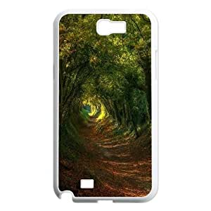 Qxhu tree Hard Plastic Cover Case for Samsung Galaxy Note2 N7100