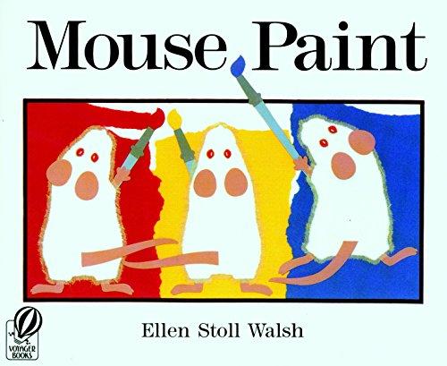 Price comparison product image Houghton Mifflin Harcourt Mouse Paint, Paperback