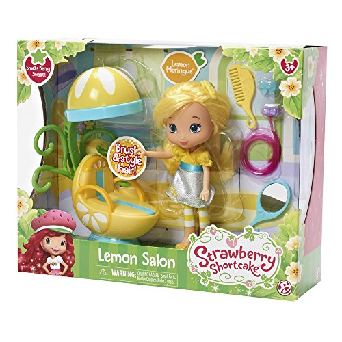 The Bridge Direct Strawberry Shortcake Berry Bitty Shops with Doll: Lemon Salon -