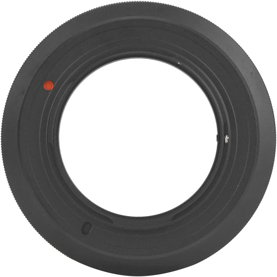 Serounder Lens Mount Adapter Ring,Professional Manual Operation Lens Adapter for Canon FD Lens to for Olympus M4//3 Camera,Support Manual Focus//Aperture,Infinity Far Focus