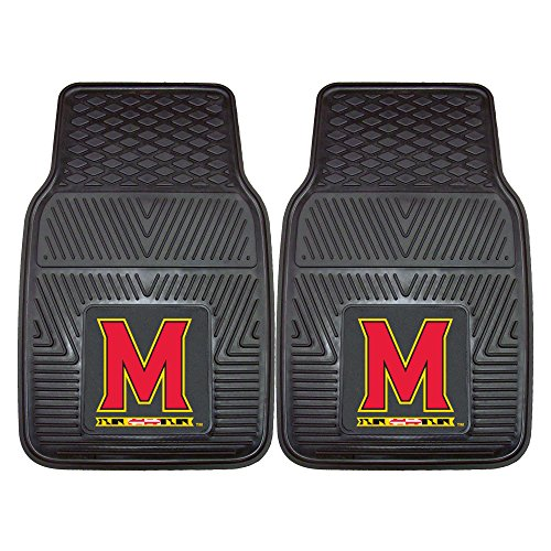 (Fanmats 8764 University of Maryland Vinyl Universal Heavy Duty Fan Floor)