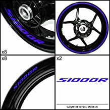 Stickman Vinyls BMW S1000R Motorcycle Decal Sticker Package Gloss Blue Graphic Kit