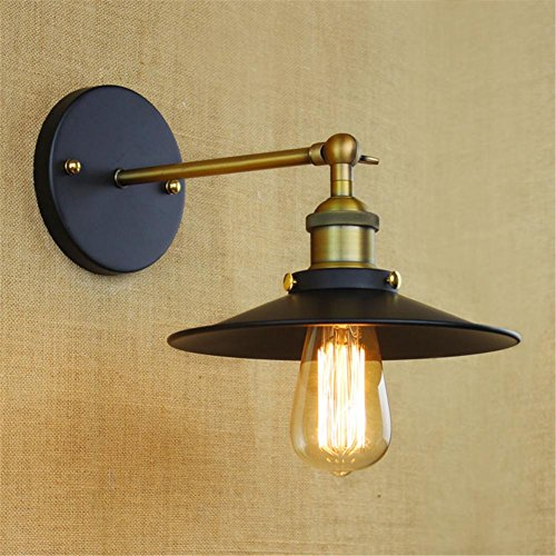 DMMSS Retro Metal Wall Lighting Shade,Oak Leaf Industrial Vintage Sconce Light Wall (Light Marble Wall Washer)