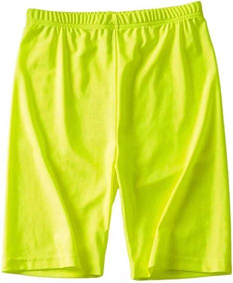 DKXLW Pantalones Cortos De Mujer,Reflectante Verde Shorts Shorts ...