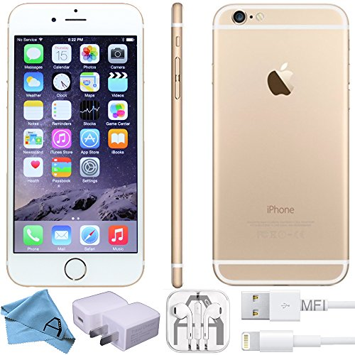 Apple iPhone 6 16GB 4G LTE Unlocked GSM Smartphone - Gold