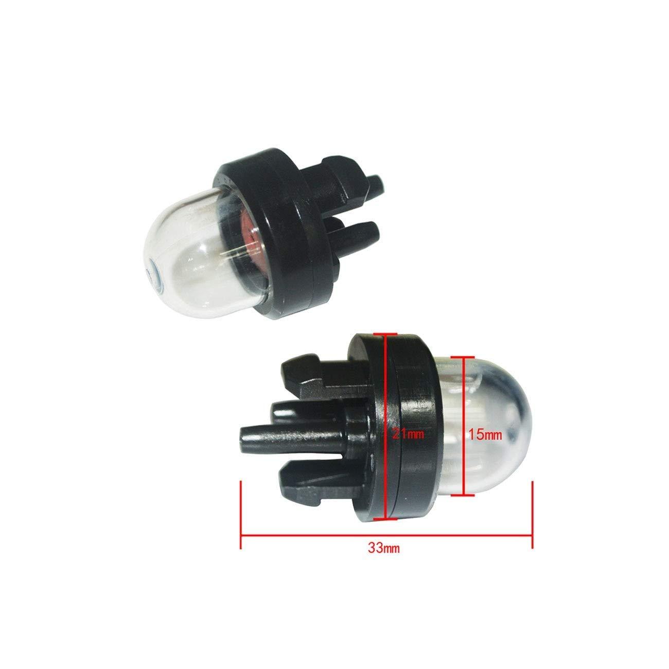 AiCheaX Herramientas Carburador Imprimación Bombilla Filtro ...