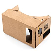 DURAGADGET Google Cardboard Virtual Reality Headset - Compatible with the LG G4