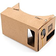 DURAGADGET Google Cardboard Virtual Reality Headset - Compatible with the Just5 Blaster 2 Smartphones