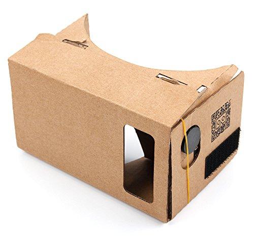 Visore Realtà Virtuale | Occhiali VR Per Apple iPhone 7 | 7 Plus | 6s Plus | 6 Plus + Panno - DURAGADGET