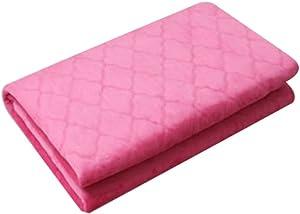 Hanil NHI Electric Blanket Microfiber Heating Bed Pad Winter Mattress Cover Microfiber Pink 220V (S)