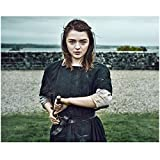 #9: Game of Thrones Maisie Williams as Arya Stark Drawing Needle 8 x 10 inch photo