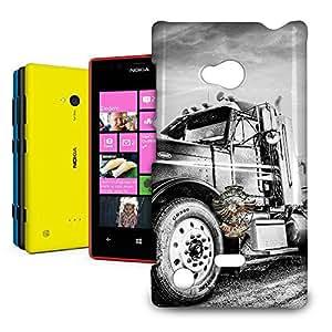 Phone Case For Nokia Lumia 720 - American Trucker Designer Back