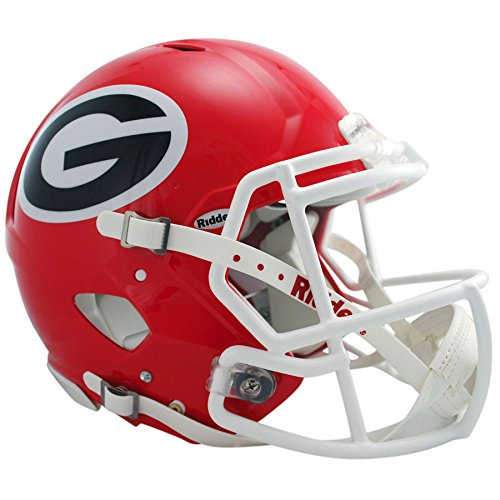 Georgia Bulldogs Officially Licensed Revolution Speed Authentic Football Helmet