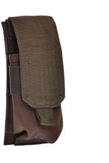 Mil-Tec Doble M4 / M16 Cargador Bolsa MOLLE Coyote: Amazon ...