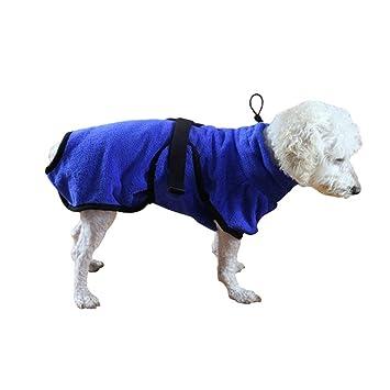 Jamisonme Bata de baño para Perros Microfibra Toallas de baño para Mascotas para Perros Gatos Súper Absorbente Manta de Animales Paños por Manta: Amazon.es: ...