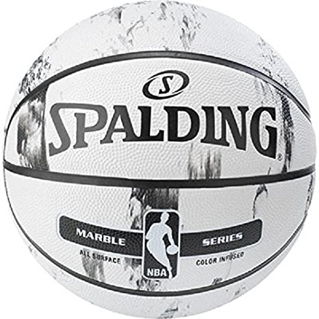 Spalding NBA MARBLE BW/MC OUT SZ. 7 und 5 Basketball Outdoor versch. Farben