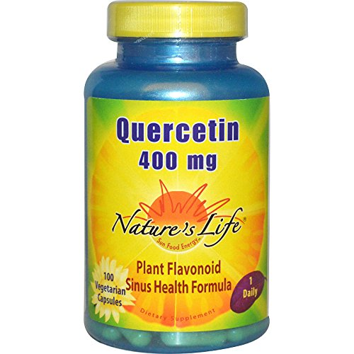 Nature's Life, Quercetin, 400 mg, 100 Veggie Caps - 3PC by Nature's Life
