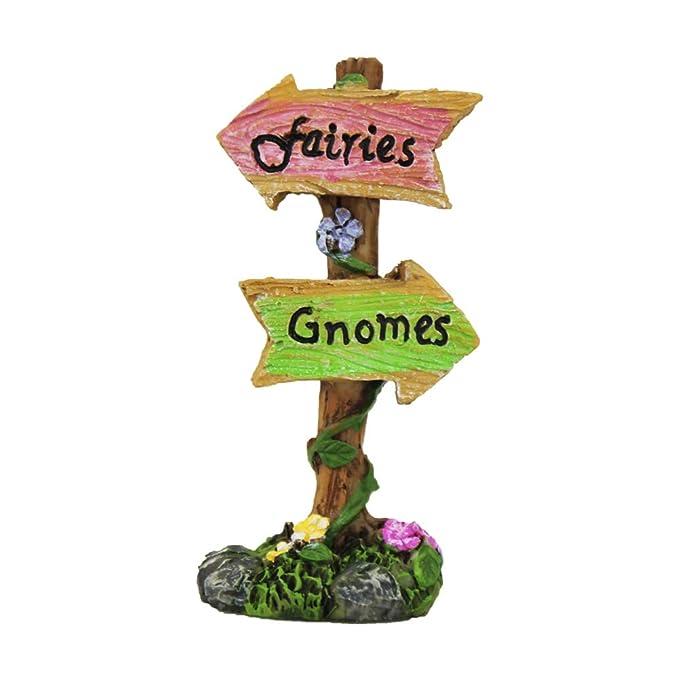 NW Wholesaler - Fairy Garden Supplies - Fairies & Gnomes Sign