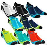 CEP Men's Dynamic+ No-Show Socks with Compression and Light, Breathable Fit for Cross-Training
