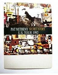 1992 Pat Metheny Satin Backstage Pass Secret Story Tour