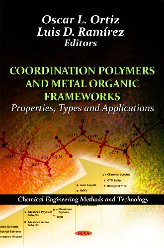 Coordination Polymers and Metal Organic Frameworks:: Properties, Types and Applications (Chemical Engineering Methods an