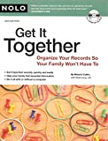 img - for Get It Together: Organize Your Records So Your Family Won't Have To (book with CD-Rom) by Melanie Cullen (2008-10-20) book / textbook / text book