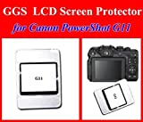 GGS LCD Optical Glass Screen Protector for Canon Powershot G11 / G12, Best Gadgets