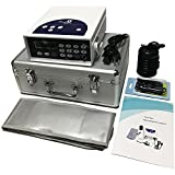 Zinger Ionic Foot Bath Detox Machine System, Chi Aqua Ionic Ion Foot Detox Bath Cleanse Machine with 1 Far Infrared+ 1 Detox Arrays+1 Wrist Strap+1 Power Cord+ Waist Belt+1 Travel Case