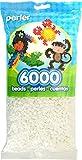 Perler Beads White Bead Bag (6000 Count)
