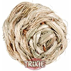 Trixie Grass Ball Bell, 6 Centimetre