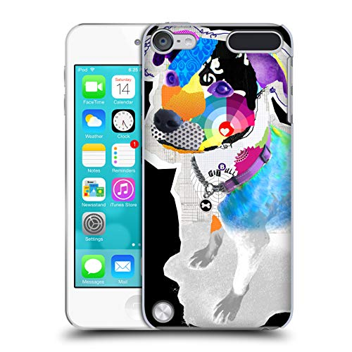 Official Michel Keck Pitbull Dogs 2 Hard Back Case Compatible for Touch 5th Gen/Touch 6th Gen