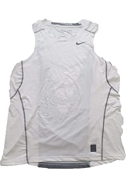 8f7d13f970d9d Amazon.com  Nike Men PRO Elite Hypercool Fitted Tank Shirt (Large ...