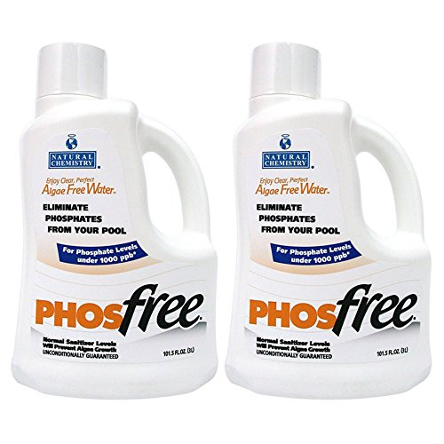 (Natural Chemistry 2 05121 Swimming Pool Spa PHOSfree Phosphate Remover - 3L Each)