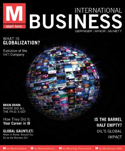 M: International Business with Connect Access Card