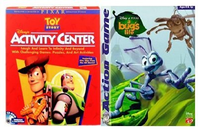 Double Feature Bug's Life/Toy Story Interactive Action Games PC/Mac