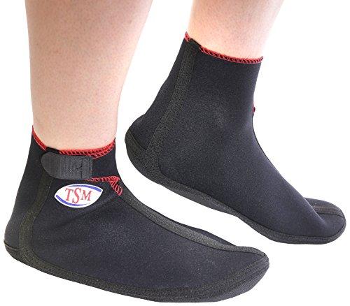 TSM Sportbandage Beach Socks aktiv, Schwarz, XL, 2104