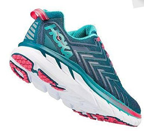 HOKA ONE ONE Women's Clifton 4 Running Shoe - diagonal view