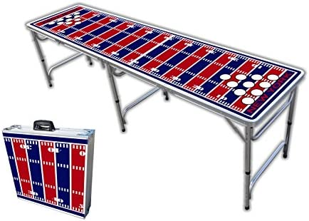 8-Foot Professional Beer Pong Table w Optional Cup Hole