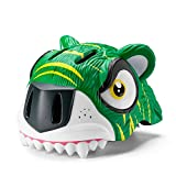 KTH Lightweight Bike Helmet for Kid, Dinosaur/Unicorn/Fish/Tiger/Shark/Crocodile Pattern(20-22inch) (Color : Pattern-15)