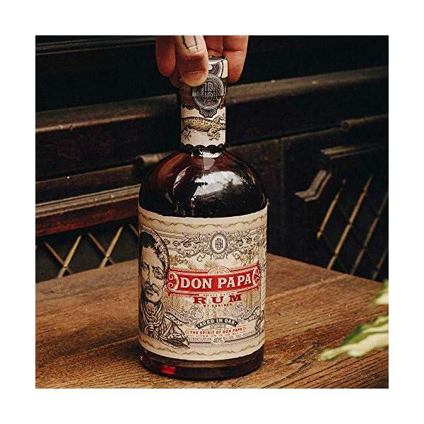 DonPapaRum – Colore Ambra, Versione senza astuccio – 700 ml