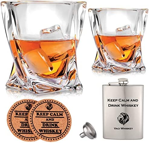 Vaci Crystal Whiskey Glasses Lead Free product image