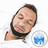 Finally, Get A Peaceful, Long, and a Deep Nights Sleep With G7's Unique Snoring Aid Design! How To Use Your Chin Strap : 1. Place chin in the chin hole with smooth side of strap against the skin 2. Put straps over the head so it's snug but not uncomf...
