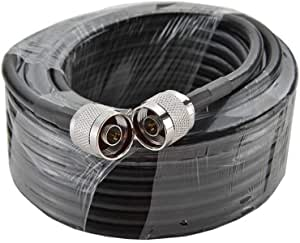 RG6 Coaxial Cable 50 ohm 6 Meters N- Male to N- Male type