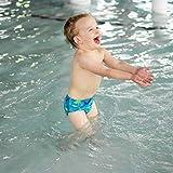 i Play Boys Swim Diaper Aqua Dinosaur-3T