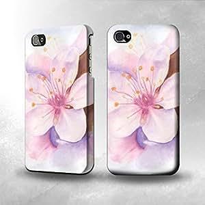 Apple iPhone 4 / 4S Case - The Best 3D Full Wrap iPhone Case - Sakura Blossom Art