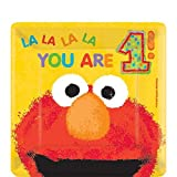 Amscan Elmo'S 1st Birthday Square Plates, 7'', Yellow