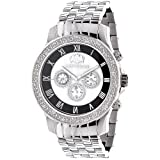 Designer Watches LUXURMAN Mens Diamond Watch 0.25ct